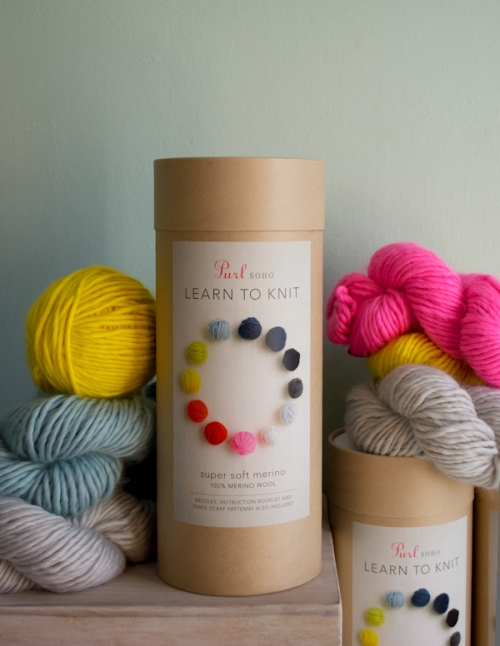 Purl Soho Learn to Knit Kit