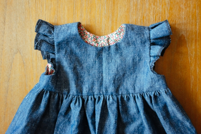 Blanca Pate_Made by Rae Geranium Dress in denim_4