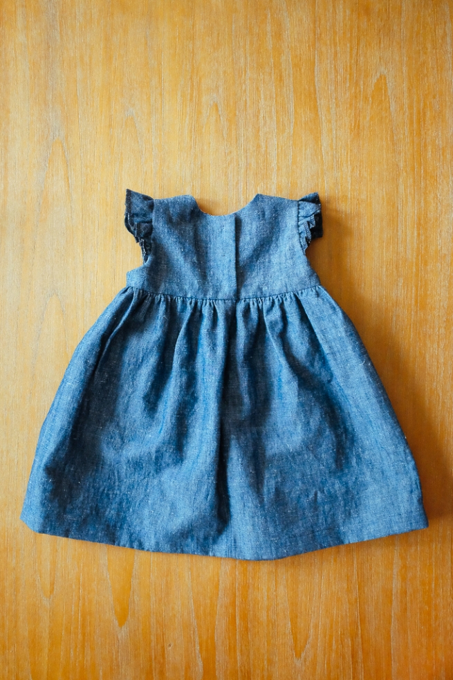 Blanca Pate_Made by Rae Geranium Dress in denim_3