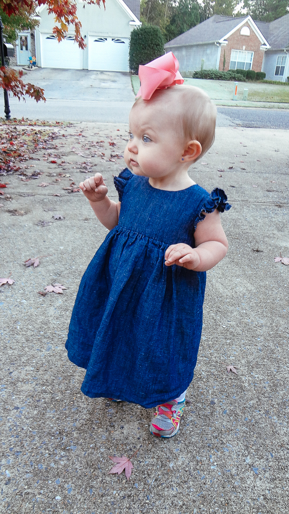 Blanca Pate_Made by Rae Geranium Dress in denim_6