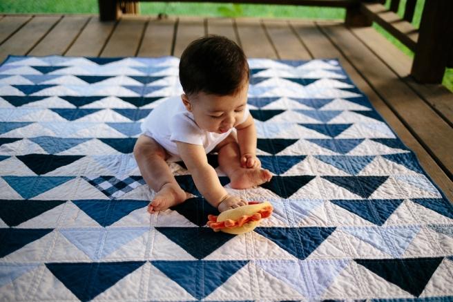 Jackson's Baby Quilt   Blanca Pate