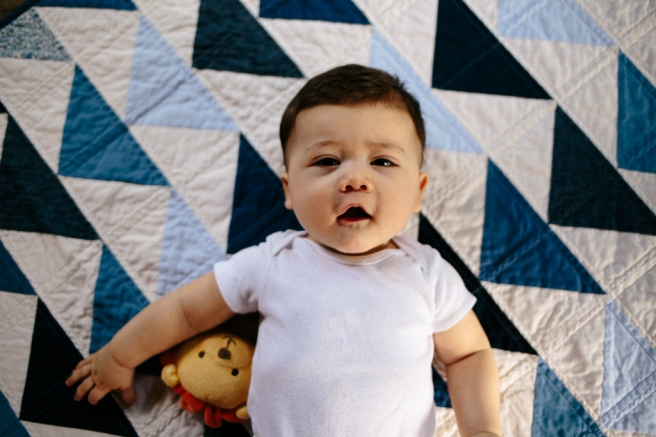 Jackson's Baby Quilt | Blanca Pate